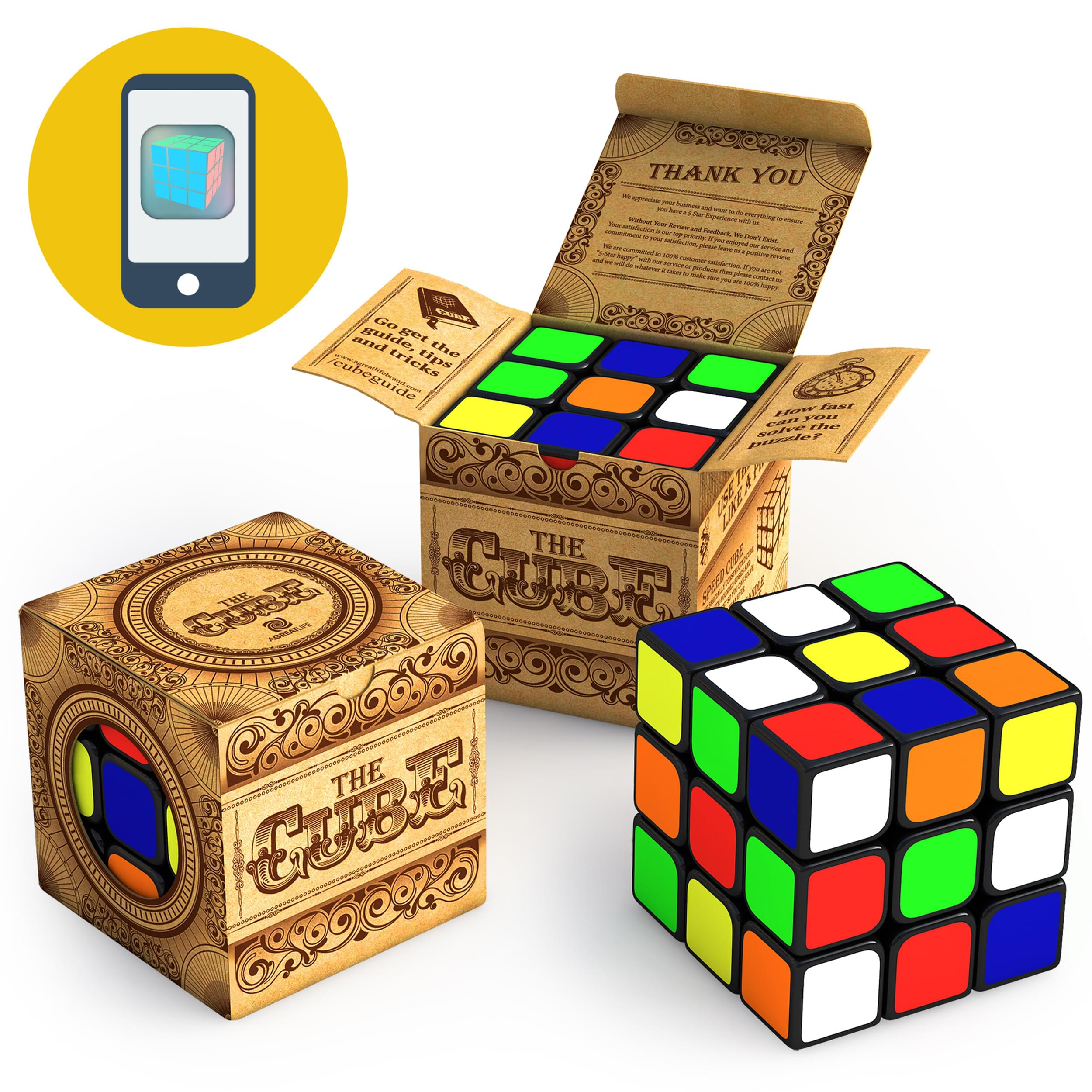 aGreatLife 3x3x3 speed cube